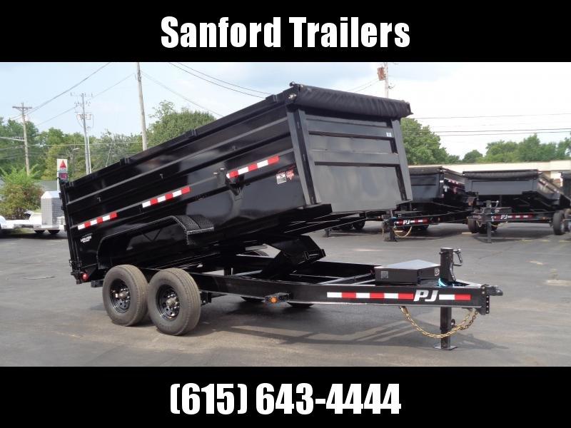 "2022 PJ Trailers 83"" Pro Series Low Pro Dump w/ 8K Axles (DX) Dump Trailer"