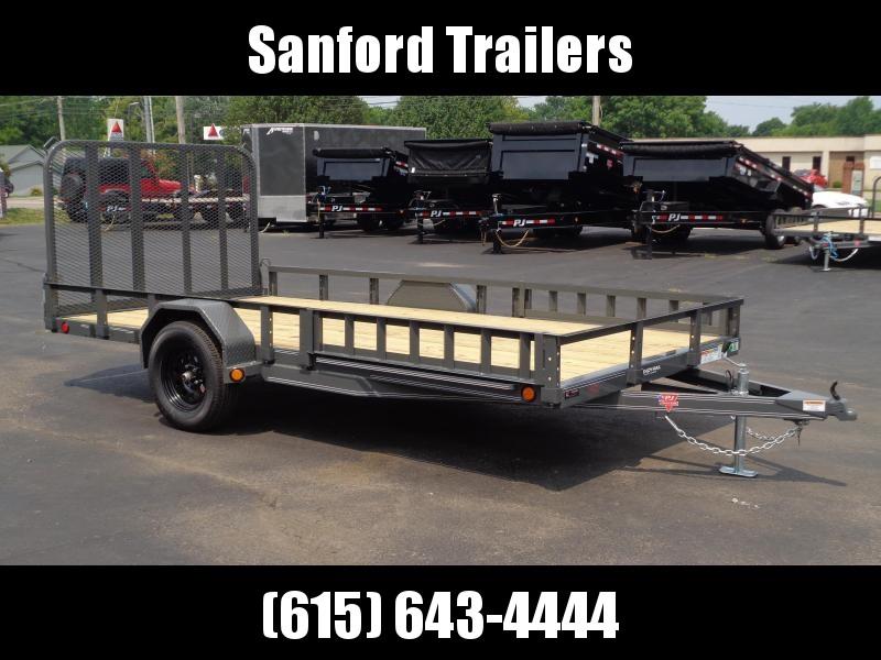 "2022 PJ Trailers 14' x 83"" Single Axle Channel Utility (U8) Utility Trailer"