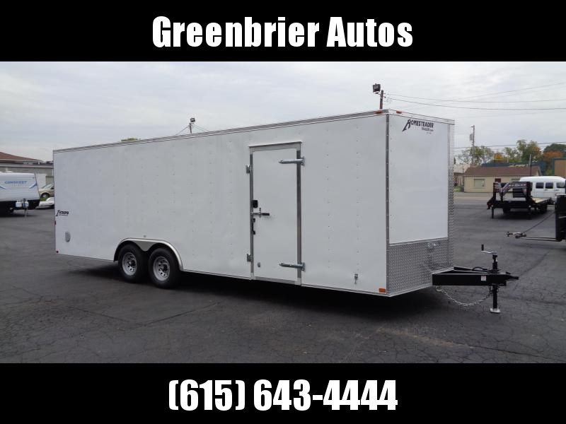 2021 Homesteader Intrepid 8.5' x 24' x 6'6 Cargo / Enclosed Trailer