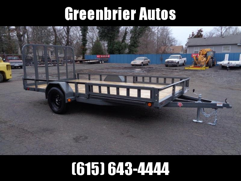"2021 PJ Trailers 14' x 83"" Single Axle Channel Utility (U8) Utility Trailer"