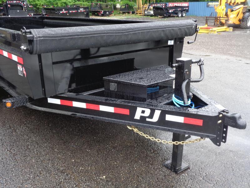 """2022 PJ Trailers 16' x 83"""" Pro Series Low Pro Dump (DL) Dump Trailer"""