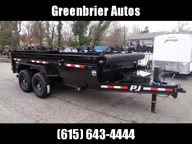 "2021 PJ Trailers 14' x 83"" Pro Series Low Profile Dump (DL)"