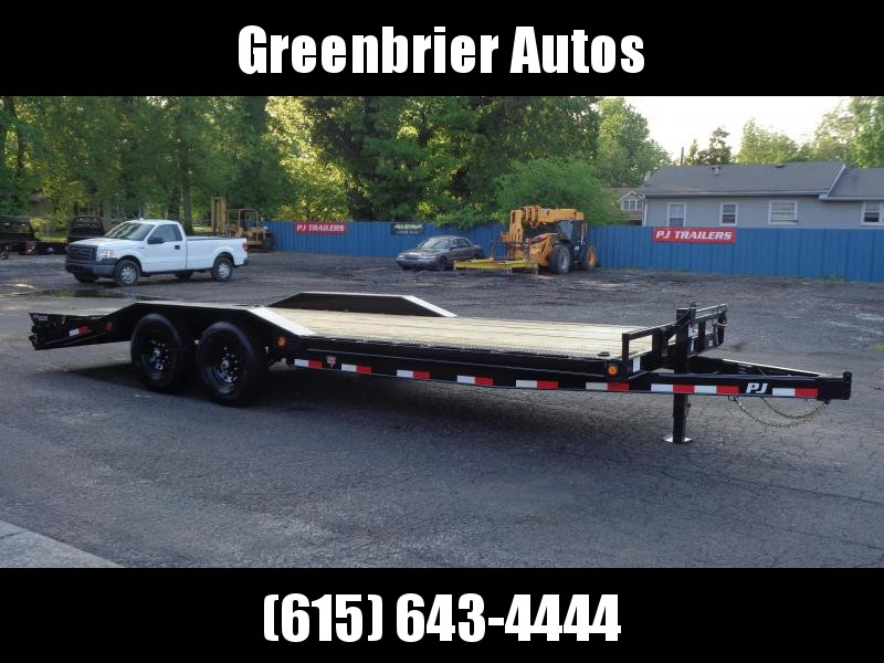 "2021 PJ Trailers 102"" x 22' Super-Wide (B6) Equipment Trailer"
