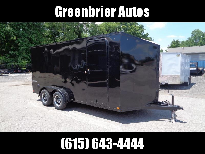 """2021 Impact Trailers Tremor Blackout 7' x 16' x 6'6"""" Enclosed Cargo Trailer"""