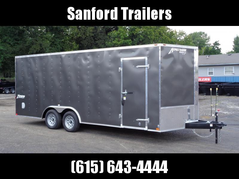 "2021 Homesteader Intrepid 8.5' x 20' x 6'6"" Enclosed Cargo Trailer"