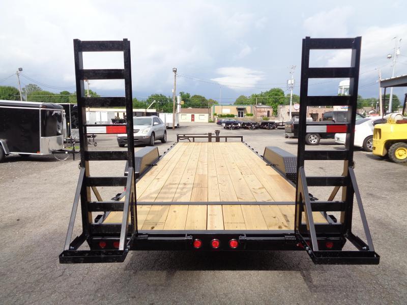 2022 PJ Trailers 24' x 6 in. Channel Equipment (CC) Equipment Trailer