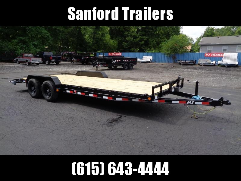 2022 PJ Trailers 22' x 5 in. Channel Equipment (CE) Equipment Trailer