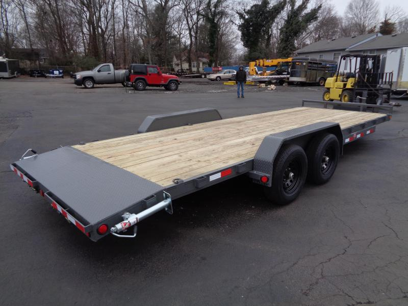 2021 PJ Trailers 22' x 5 in. Channel Equipment (CE) Car / Racing Trailer