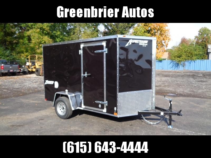 2021 Homesteader Intrepid 6' x 10' x 6' Enclosed Cargo Trailer