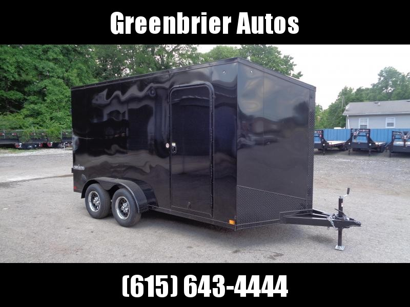 2021 Impact Trailers Tremor Blackout 7' x 14' x 7' Enclosed Cargo Trailer