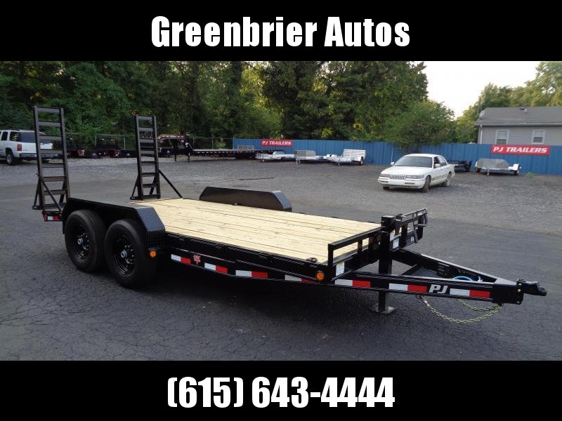 2021 PJ Trailers 16' x 6 in. Channel Equipment (CC) Equipment Trailer