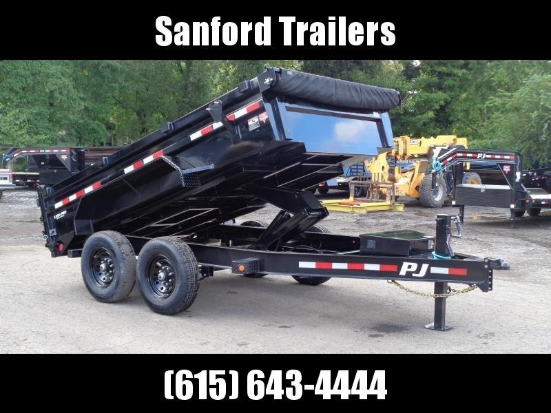 """2022 PJ Trailers 12' x 83"""" Pro Series Low Profile Dump (DL)"""
