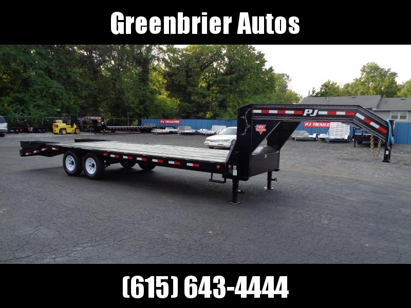 2020 PJ Trailers 25 Low-Pro Flatdeck with Singles (LS) Flatbed Trailer
