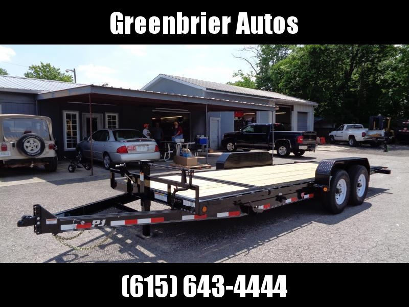 "2020 PJ Trailers 20' HD Equipment Tilt 6"" Channel (TJ)"