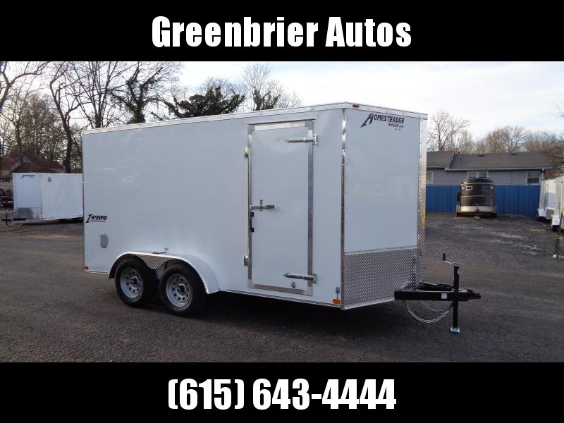 "2021 Homesteader Intrepid 7' x 14' x 6'6"" Enclosed Cargo Trailer"