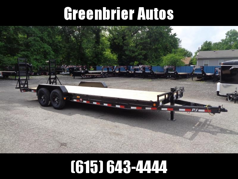 2021 PJ Trailers 24' x 6 in. Channel Equipment (CC) Equipment Trailer