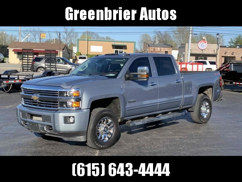 2016 Chevrolet Silverado 3500 High Country 4x4