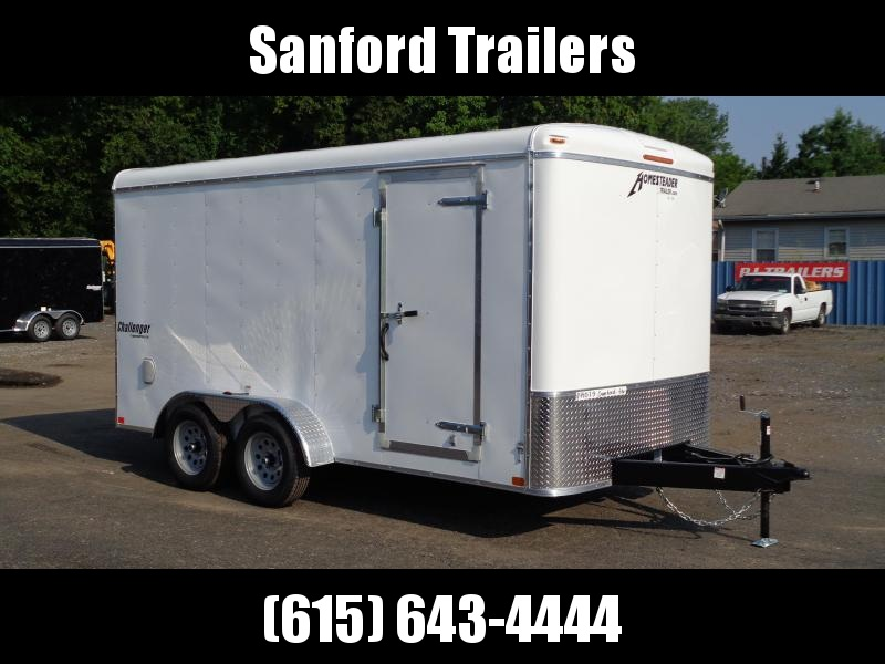 """2021 Homesteader Trailers Challenger 714CT 7' x 14' x 6'8"""" Enclosed Cargo Trailer"""