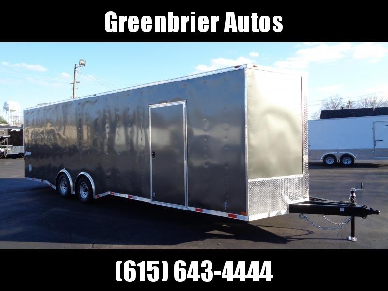 2021 Homesteader Trailers Intrepid 8.5' x 28' Enclosed Cargo Trailer