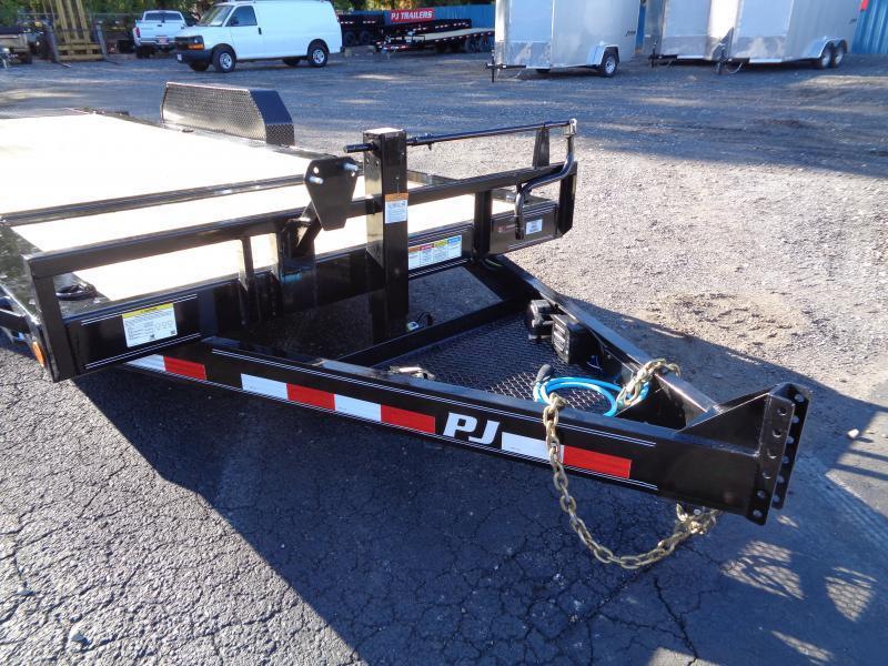 2021 PJ Trailers 20' HD Equipment Tilt 6 in. Channel (TJ) Equipment Trailer