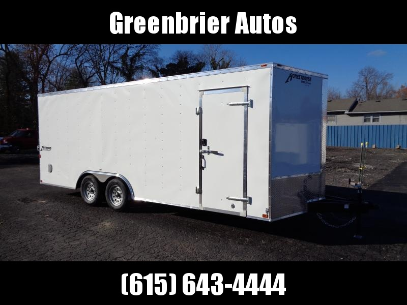 2021 Homesteader Intrepid 8.5' x 20' x 6'6 Cargo / Enclosed Trailer