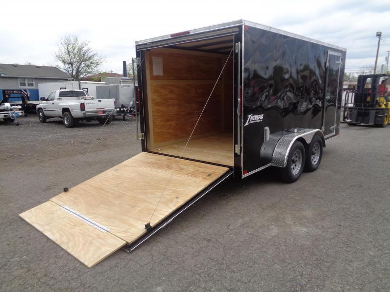 2021 Homesteader Intrepid 7' x 14' x 6' Enclosed Cargo Trailer