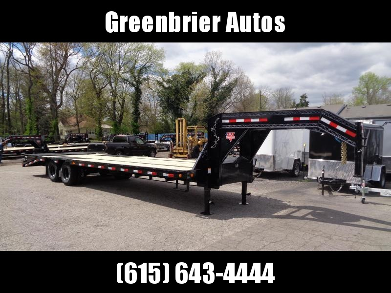2021 PJ Trailers 30' Low-Pro Flatdeck with Duals (LD) Flatbed Trailer