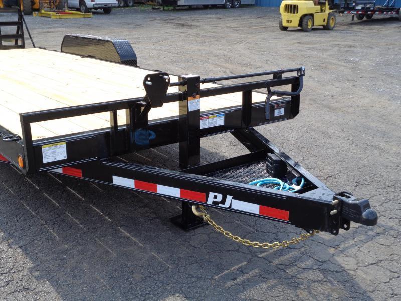 2022 PJ Trailers 20' x 6 in. Channel Equipment (CC) Equipment Trailer