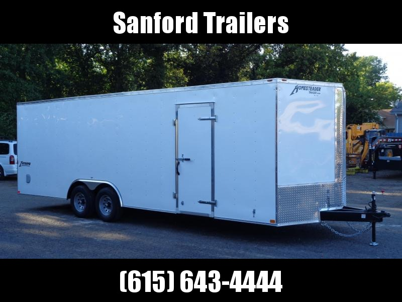 2021 Homesteader Intrepid 8.5' x 24' x 6'6 Cargo / Enclosed Trailer