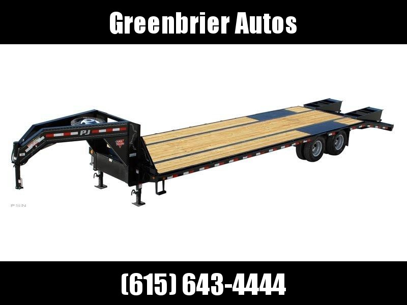 2020 PJ Trailers 28' Low-Pro Flatdeck with Duals (LD) Flatbed Trailer