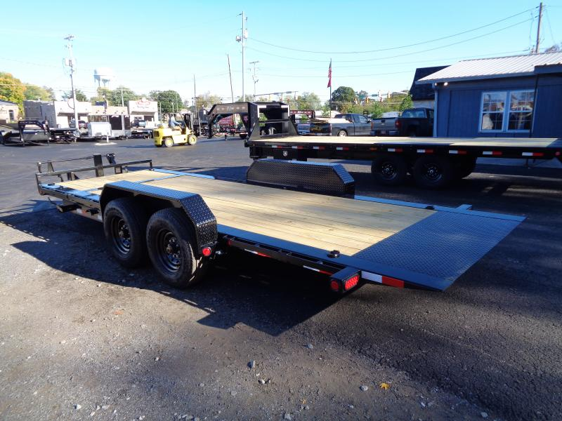 2021 PJ Trailers 20' HD Equipment Tilt 6 in. Channel (TJ) Equipment Trailer