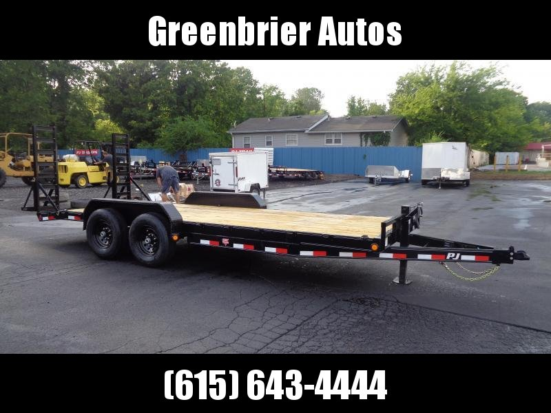 2021 PJ Trailers 20' x 6 in. Channel Equipment (CC) Equipment Trailer