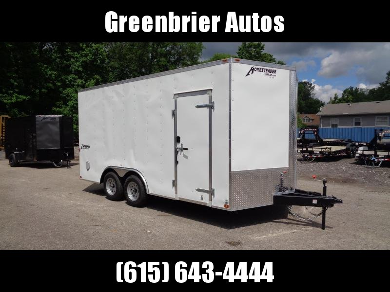 2021 Homesteader Intrepid 8.5' x 16' x 7' Enclosed Cargo Trailer