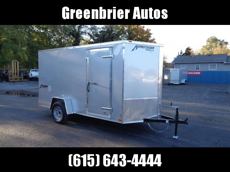 2021 Homesteader Intrepid 6' x 12' x 6' Enclosed Cargo Trailer