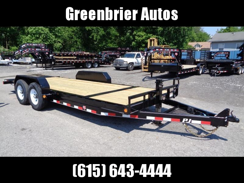 2020 PJ Trailers 20' x 6 in. Channel Equipment Tilt (T6)