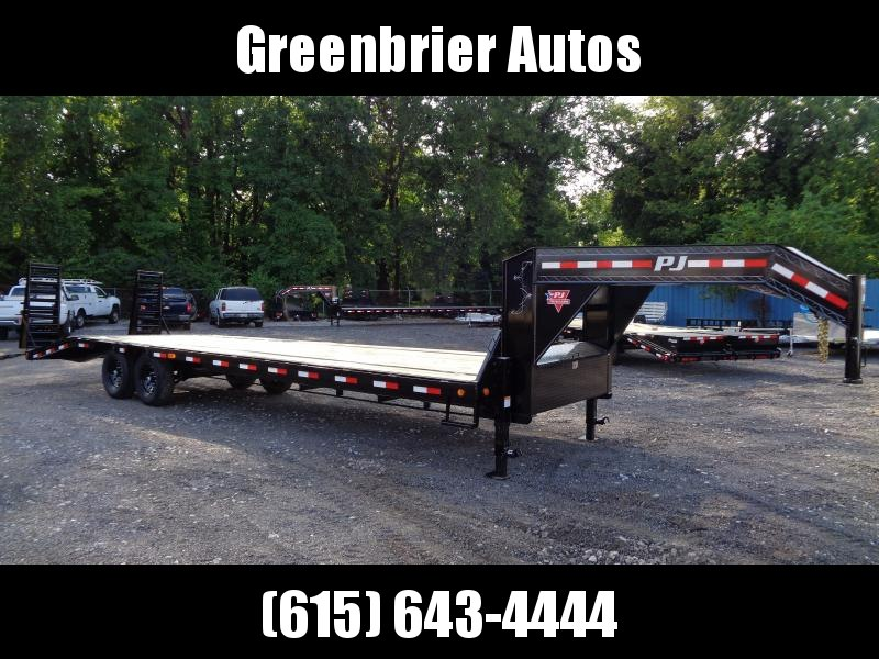 2021 PJ Trailers 30' Low-Pro Flatdeck with Singles (LS) Flatbed Trailer