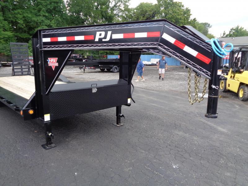 "2021 PJ Trailers 24' x 8"" Pro-Beam Super-Wide Equip (H6) Equipment Trailer"