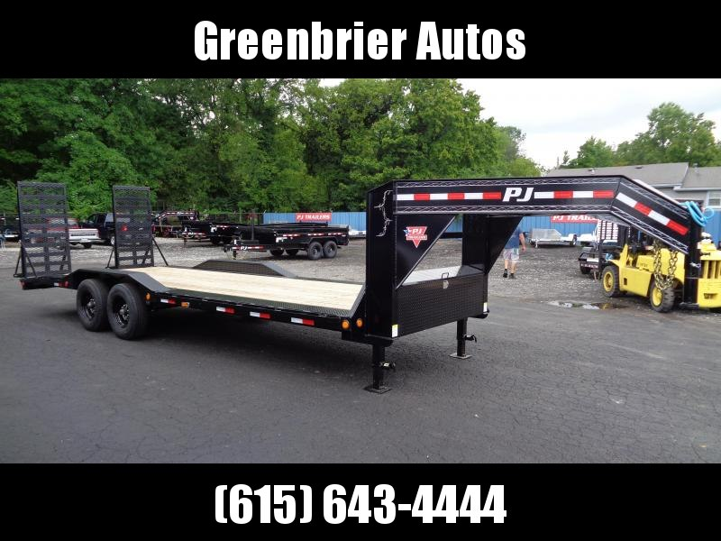 "2021 PJ Trailers 24' x 8"" Pro-Beam Super-Wide Equip (H6) Equipment Trailer"