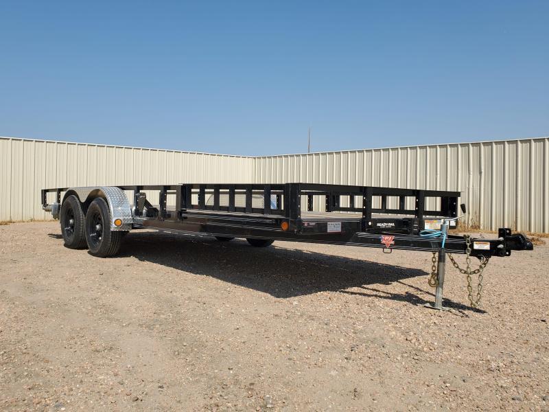 "2021 PJ Trailers 20' x 83"" Tandem Axle Channel Utility (UL) Utility Trailer"