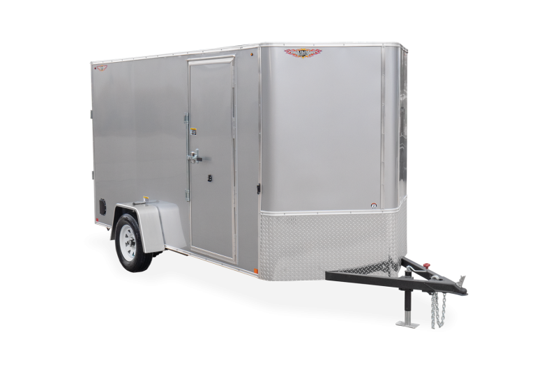 HH Series 6X10 Flat Top V-Nose Enclosed Cargo Trailer 5K Brake (H7210SFTV-050)