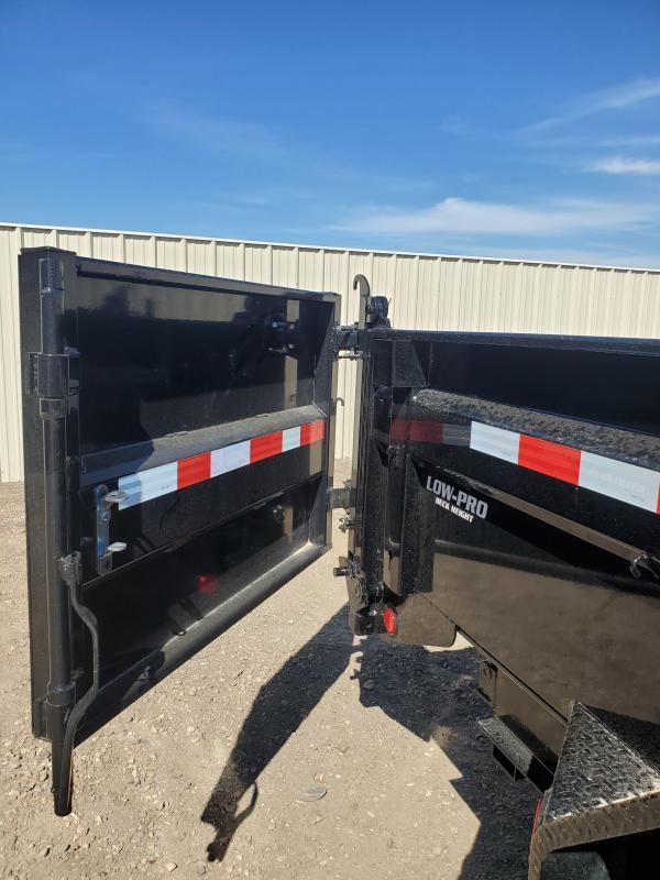 """2022 PJ Trailers 83"""" x 14' 14K Low-Profile Dump PRO (DL) Dump Trailer"""