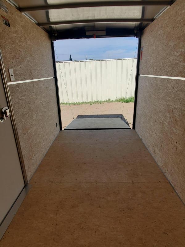 2021 H and H Trailer 6x10 HH Series Flat Top V-Nose Enclosed Cargo Trailer 3K Idler (H7210SFTV-035) Enclosed Cargo Trailer