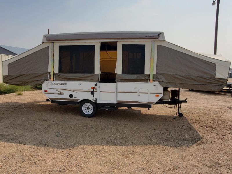 2012 Rockwood Freedom Pop Up Camper Trailer