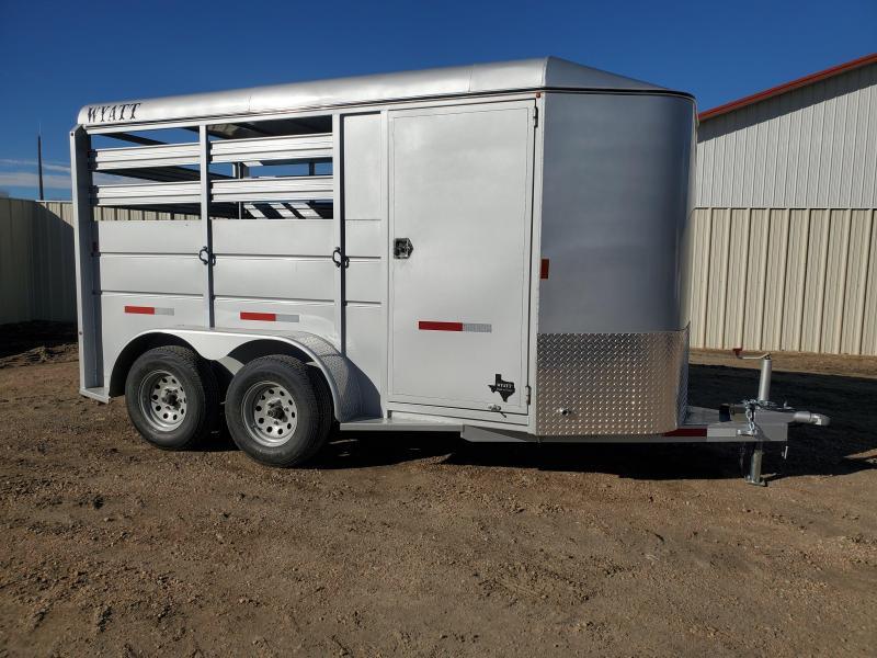 2021 Wyatt 2 Horse Bumper Pull Trailer
