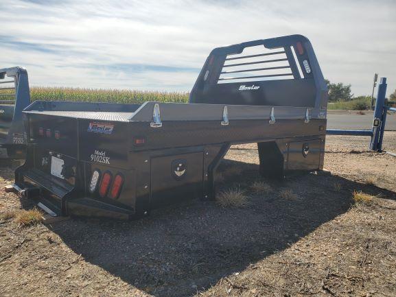 2020 Besler Flatbed 9087SK Single Wheel Short Bed
