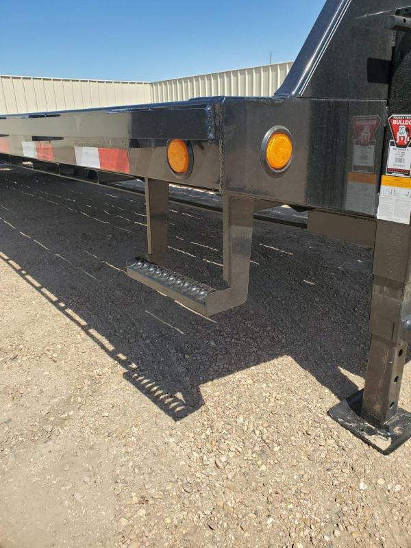"""2021 PJ Trailers 102"""" x 32' Low-Pro Flatdeck With Duals (LD) Flatbed Trailer"""