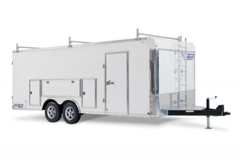 2021 Sure-Trac 8.5 x 20 HD Contractor Pro Enclosed Bullnose 10K Barn
