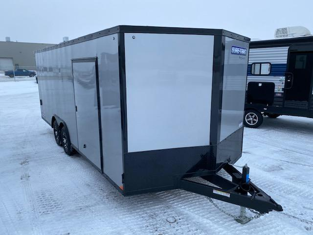 2021 Sure-Trac 8.5x20 Pro Series V-Nose Enclosed/Cargo Car Hauler TA 10K