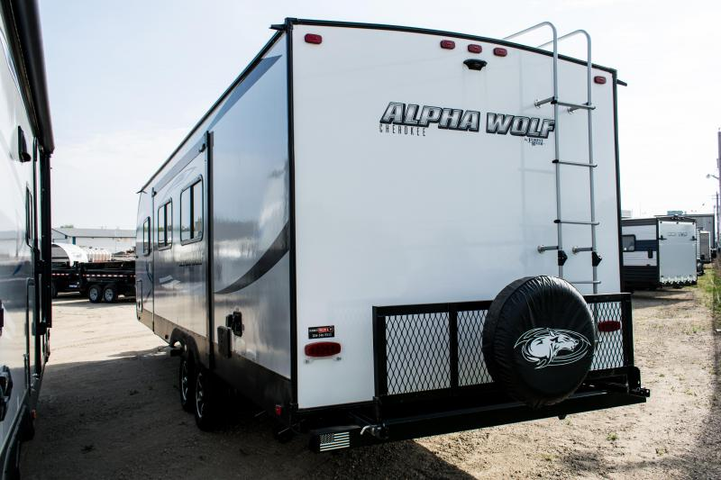 2020 Alpha Wolf Limited 26RB-L Couples Model Travel Trailer RV