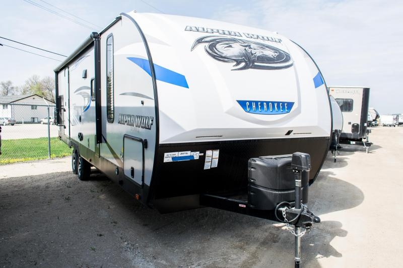 2020 Alpha Wolf 26RB Limited Travel Trailer RV